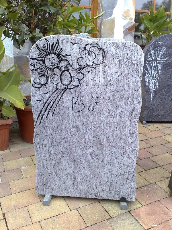 Grabstein einzel 070