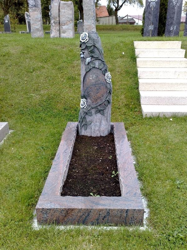 Grabstein einzel 071