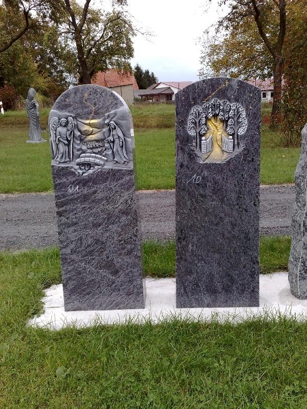 Grabstein einzel 072