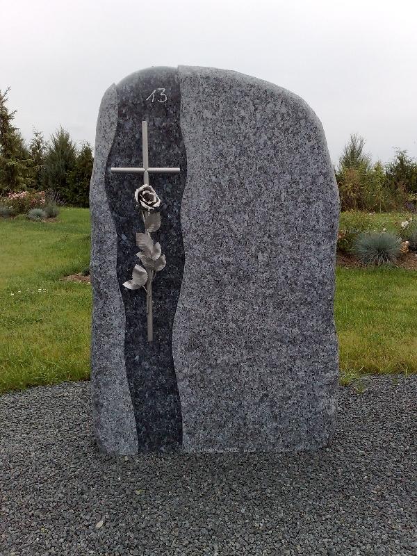 Grabstein einzel 073