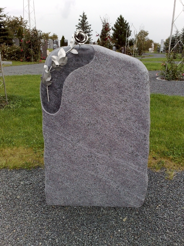 Grabstein einzel 074