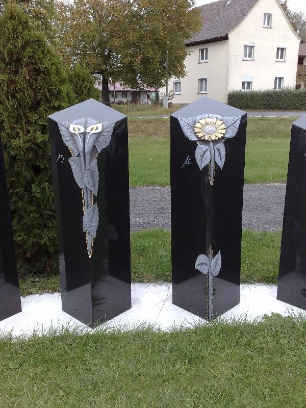 Grabstein einzel 076