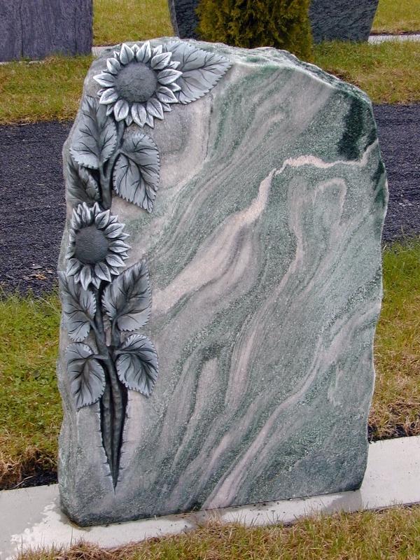 Grabstein einzel 091