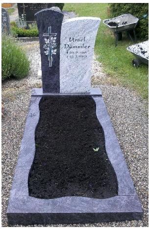 Grabstein einzel 534