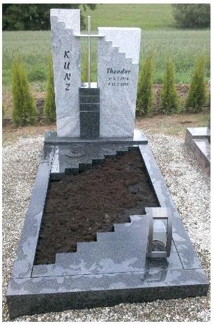 Grabstein einzel 535