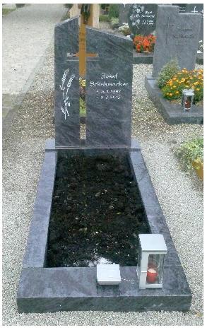 Grabstein einzel 545