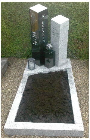 Grabstein einzel 546