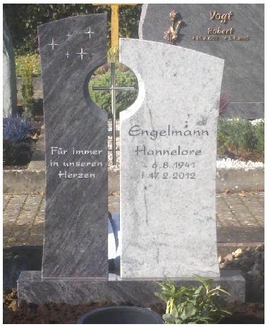 Grabstein einzel 548