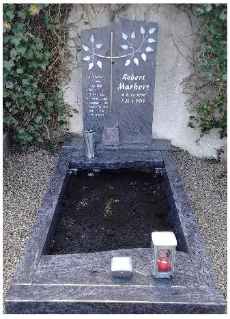 Grabstein einzel 555