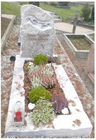 Grabstein einzel 563