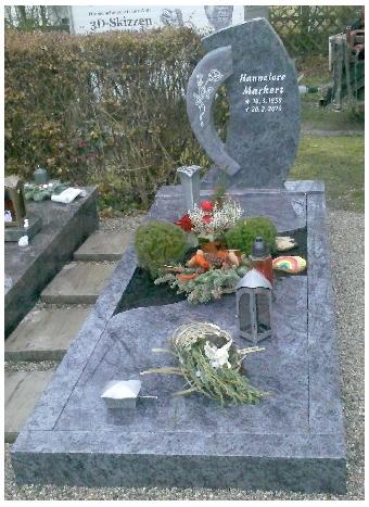 Grabstein einzel 564