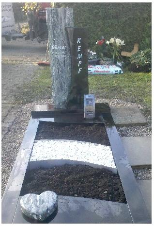 Grabstein einzel 565