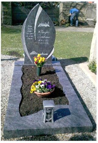 Grabstein einzel 573