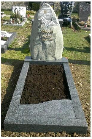 Grabstein einzel 574