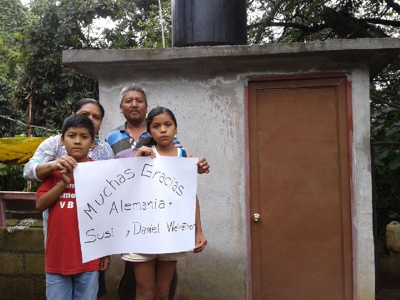 Kinderhilfe Mexiko – endlich ein WC & Bad